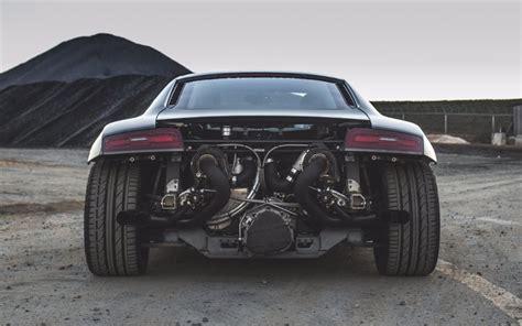 Audi Turbo by Eurowise Audi R8 V8 4 2l Turbo Kit