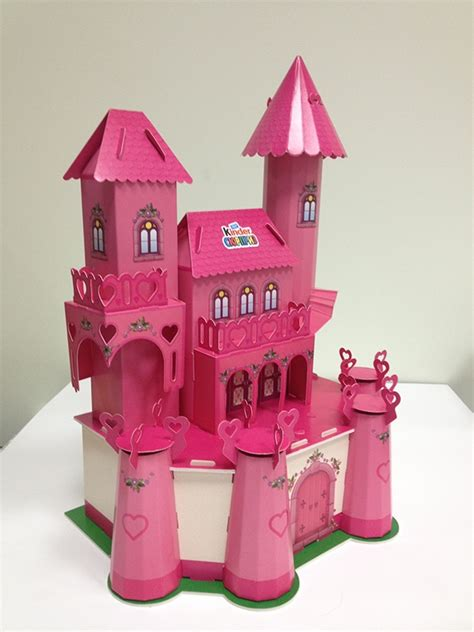 paper craft castle 3d paper craft quot castle for a princess quot on behance