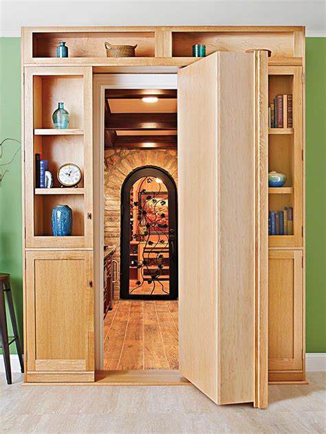 door bookcase woodworking plan from wood magazine