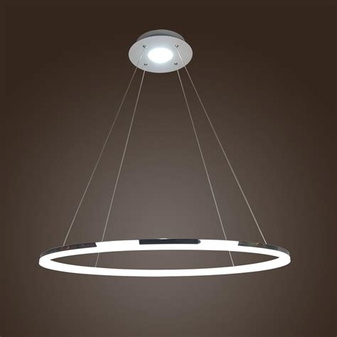 in pendant light fixtures acrylic led ring chandelier pendant l ceiling light