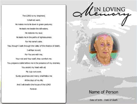make your own memorial cards free 9 free funeral program template microsoft wordagenda