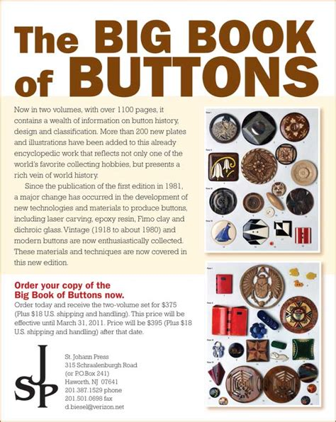 big book of pictures big book of buttons st johann press