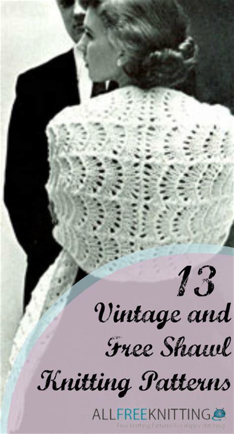 vintage shawl knitting patterns 13 vintage and free shawl knitting patterns