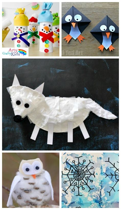 easy winter crafts 16 easy winter crafts for arty crafty