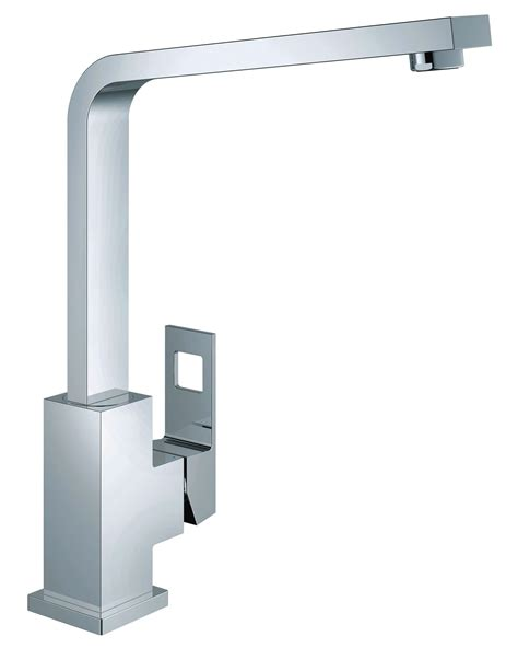 grohe kitchen sink grohe eurocube 1 2 inch kitchen sink mixer tap 31255000