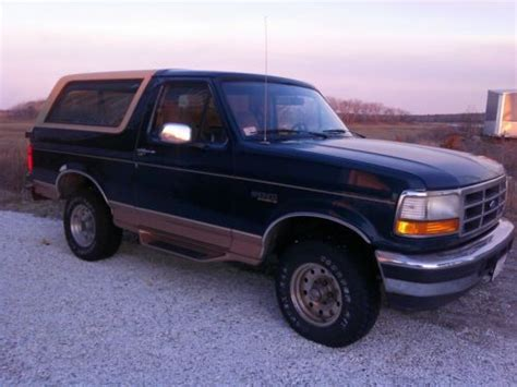 95 Ford Bronco by Buy Used 95 Ford Bronco Eddie Bauer Edition In