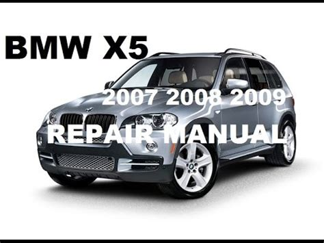 how to fix cars 2007 bmw x5 electronic throttle control download 2007 2008 2009 bmw x5 factory repair manual youtube