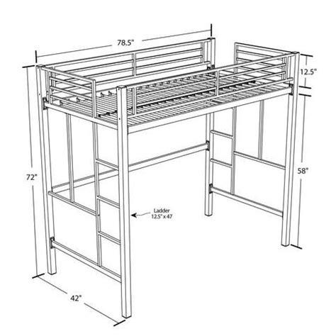 metal frame loft beds metal bunk beds with desk metal loft bed with desk walmart