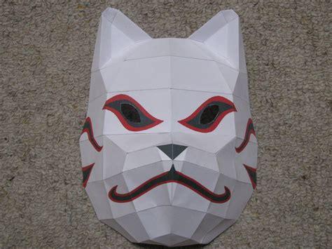 paper craft masks anbu mask papercraft website of xipuzulu