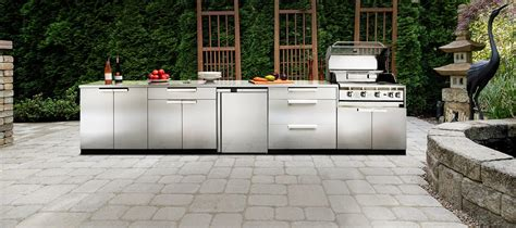 outdoor kitchen cabinets stainless steel outdoor kitchen stainless steel newage ca