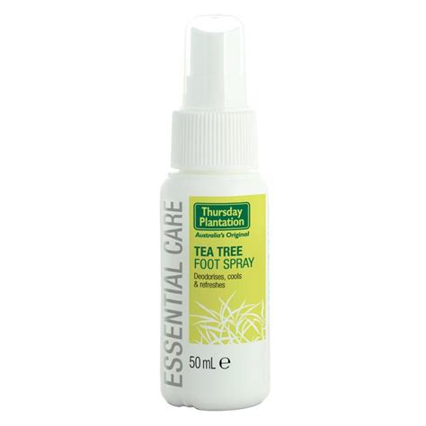 tree spray buy thursday plantation tea tree foot spray 50ml at