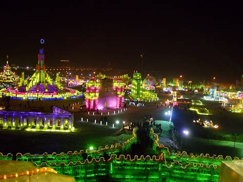 festival china harbin international and snow sculpture festival