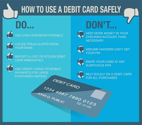 how to make money from credit card practice safe spending how to use your debit card safely