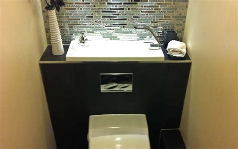 toilette avec lave integre castorama maison design bahbe