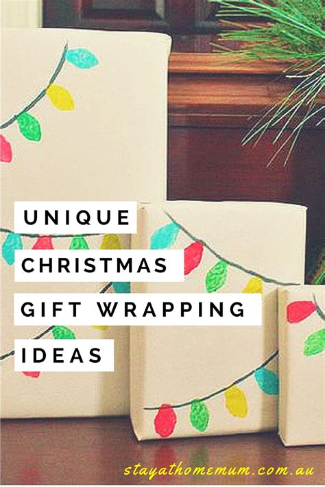 unique gift wrapping ideas stay at home