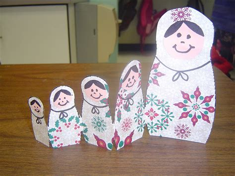 russian craft projects mrs t s grade class russian matryoshka dolls
