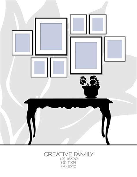 gallery wall designer framed display on picture frames frames