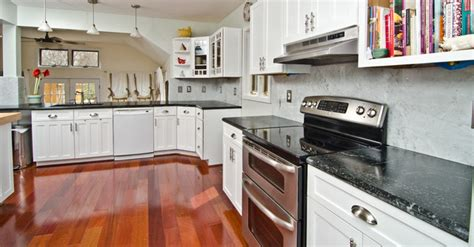 Pro Kitchen Design soapstone counters with white carrara marble full