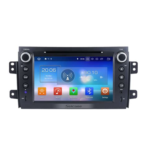 android 8 0 radio dvd player gps navigation system bluetooth stereo for 2006 2012 suzuki sx4