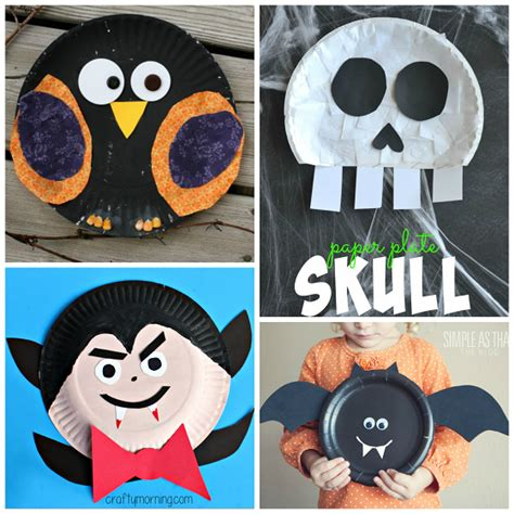 holloween crafts for paper plate crafts for crafty morning