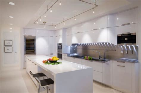 track light kitchen gorgeous track lighting ideas for the contemporary home