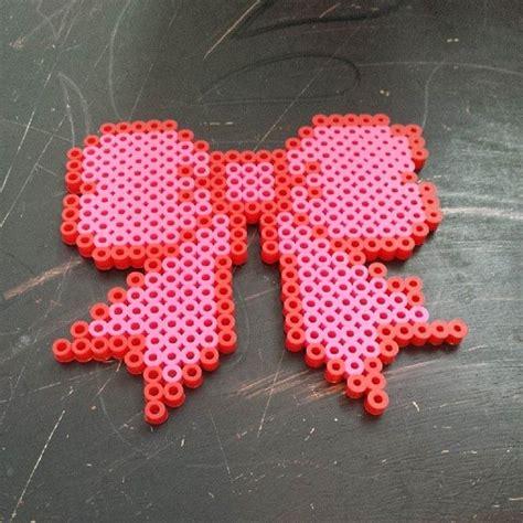 perler bow bow perler by rosa booker hama perler