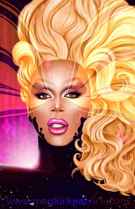 rupaul painting show rupaul by megmcmuffins on deviantart