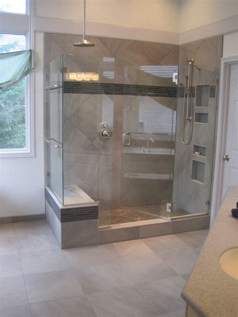 Walk In Shower Designs For Small Bathrooms tile installation and remodeling beaverton oregon tile