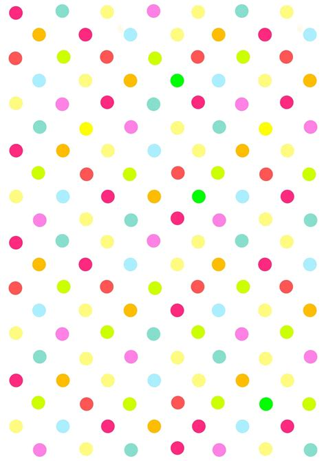 polka dot craft paper free digital multicolored polka dot scrapbooking paper