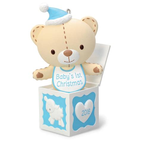 baby ornaments 2016 baby boy s hallmark keepsake ornament
