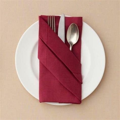 napkin folding origami napkin folding cutlery pocket tinker easter