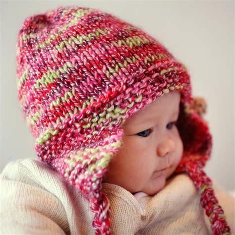 earflap hat knitting pattern earflap hat with flower freya by julie