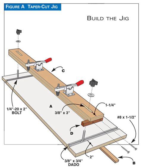 woodworking jig plans free woodworking taper jig plans plans diy free make