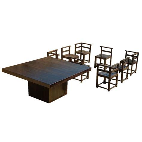 square oak dining table for 8 square oak dining table for 8 minsk large square oak