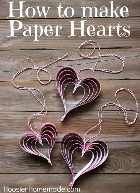 how to make crafts from paper s craft how to make paper hearts velikonoce a