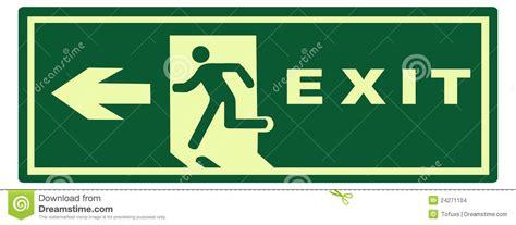 open areas emergency light net stock photo illuminated emergency exit sign stock image