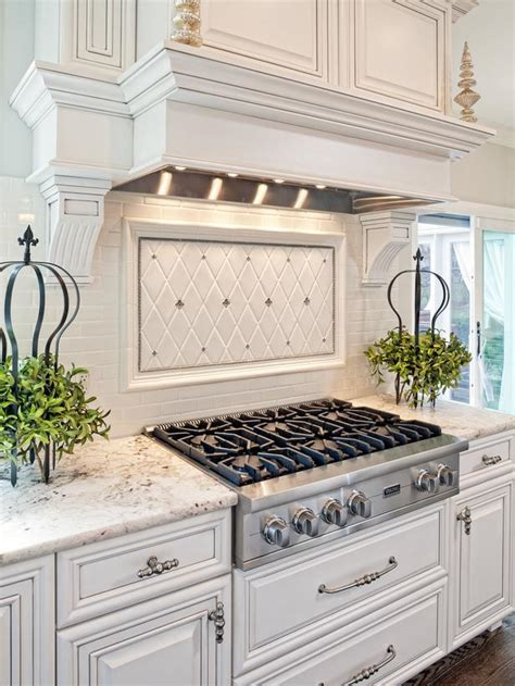 kitchen stove designs traditional white kitchen with gas cooktop hgtv