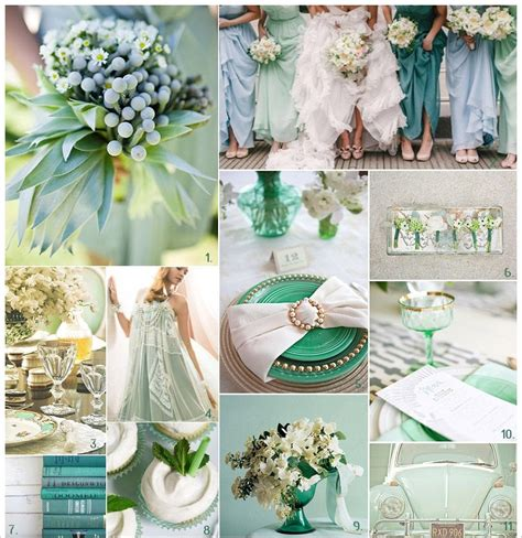 Mint Green Wedding Colors Pictures, Photos, and Images for