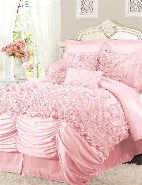 pink ruffle bedding enchanting light pink ruffle bedding magnificent small