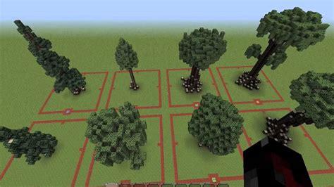 tree on minecraft minecraft custom trees