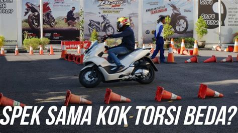 Pcx 2018 Test Ride by Test Ride Pcx 2018 Abs Vs Non Abs