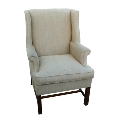 Wingback Chair by Vintage Wingback Hickory Chair Lounge Arm Chair Ebay