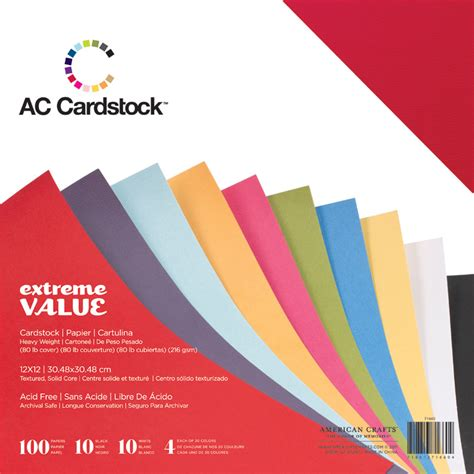 a c cardstock crafts