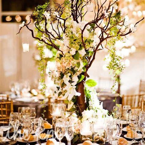 tree wedding centerpieces branch centerpieces