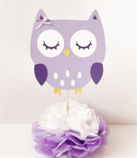 centerpiece for baby shower owl centerpieces baby shower