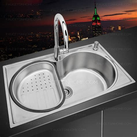 largest kitchen sink single bowl large capacity stainless steel kitchen sinks