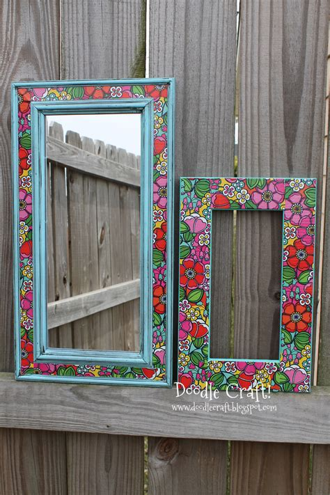 picture frame craft projects duct mirror s day crafts