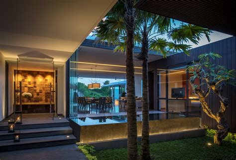 home design resort house modern resort villa with balinese theme idesignarch