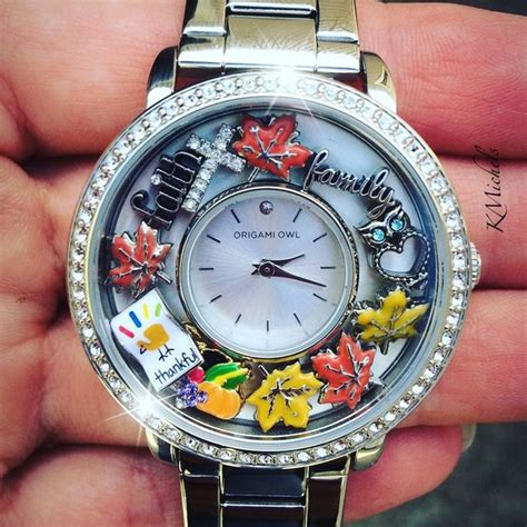 origami owl watches welcome november origami owl signature locket add