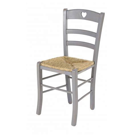 chaise paille